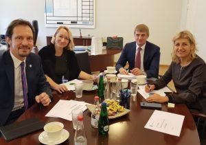 Baltijos valstybių kultūros ministrų susitikimas | lrkm.lt nuotr.