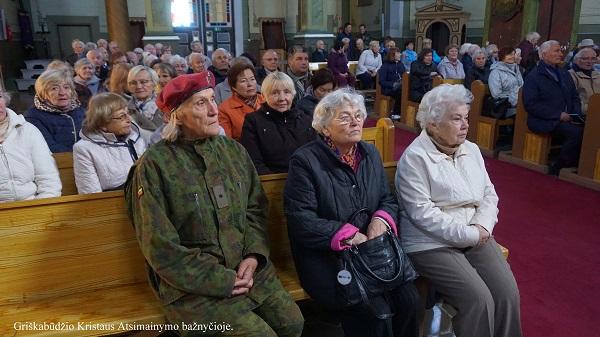 Griškabūdžio Kristaus Atsimainymo bažnyčioje | A. Grigaitienės nuotr.