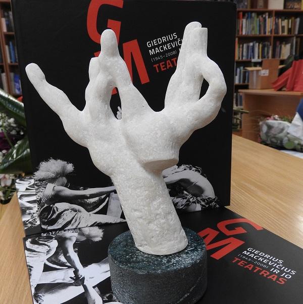 Didžio kraštiečio vardas įamžintas knygoje ir teatro nominacijos skulptūrėlėje | Ignalinos r. savivaldybės nuotr.