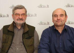 Gintautas Babravičius ir Gerimantas Statinis | Alkas.lt nuotr.