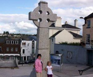Keltiškas kryžius miesto aikštėje | R.Jasukaitienės nuotr.