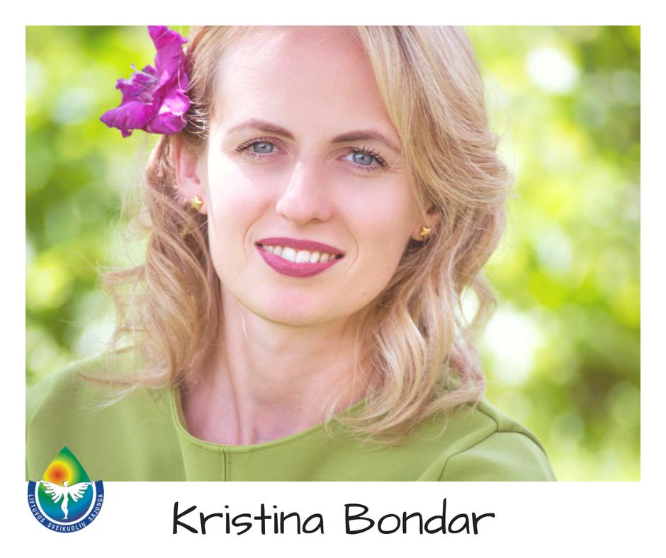 Kristina Bondar   sveikuoliai.lt nuotr.