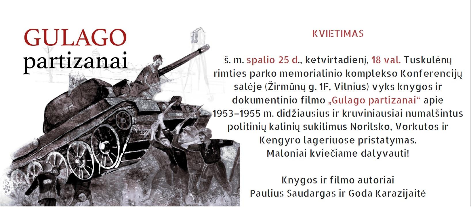 Kvietimas_Gulago_partizanai_Tuskulėnai