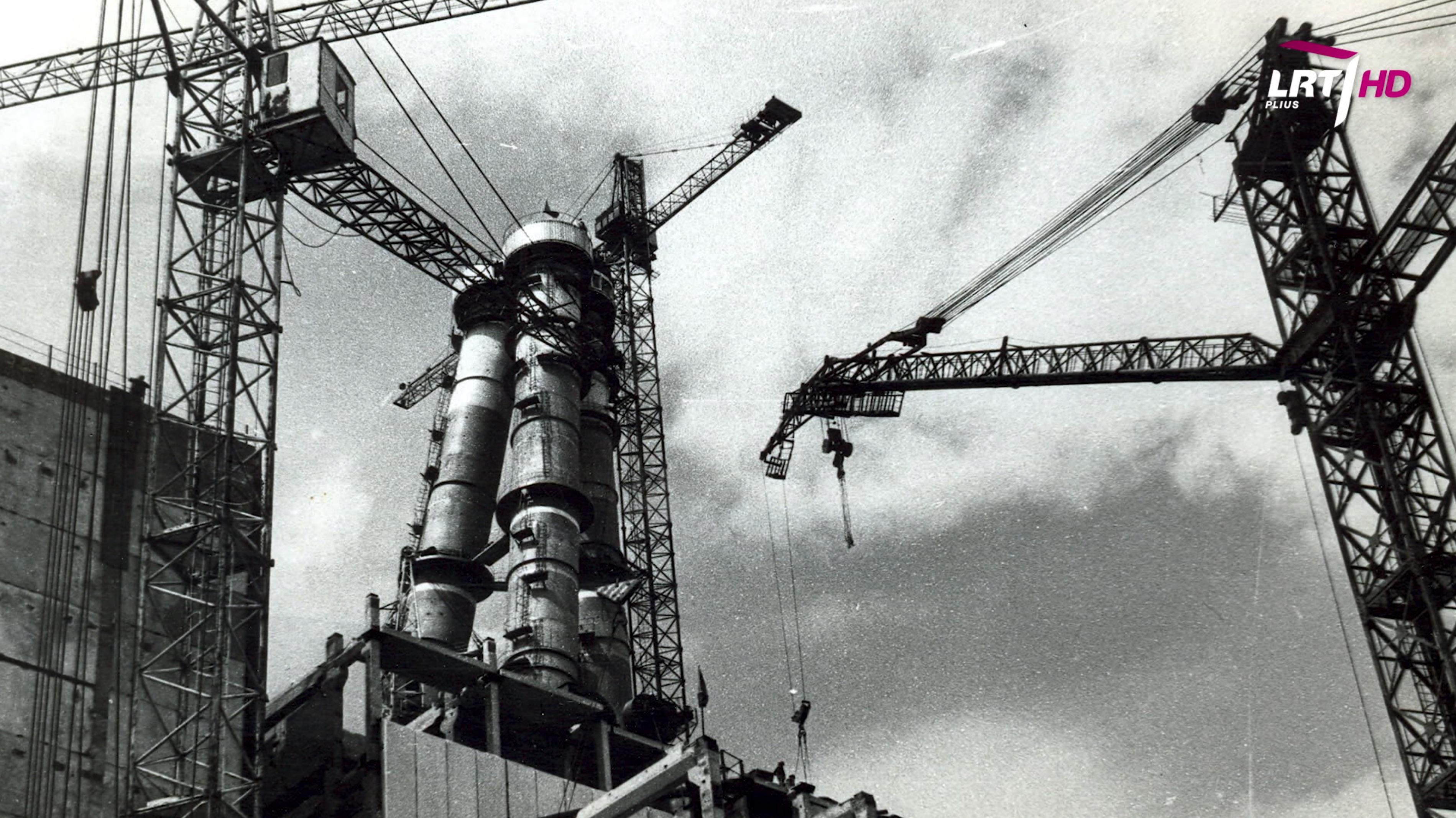 """""""Mokslo sriuba"""": kaip buvo statoma Ignalinos atominė elektrinė?   LRT Plius nuotr."""