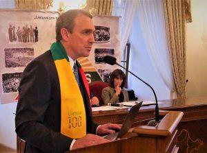 """A. Juozaitis Raudondvaryje pristatė rinkiminės programos """"Lietuva yra čia"""" metmenis ir savo bendražygius"""
