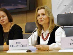EKGT pirmininkė Dalia Urbanavičienė | Alkas.lt, J. Vaiškūno nuotr.
