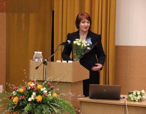 Vilniaus kolegijos direktorė doc.dr. Žymantė Jankauskienė   LKDK nuotr.