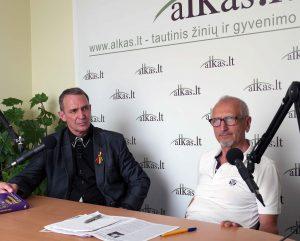 Arvydas Juozaitis ir Juozas Zykus | Alkas.lt, J. Vaiškūno nuotr.