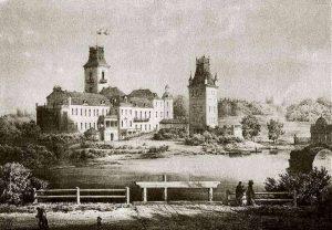 Kėdainių dvaras. Autorius Napoleonas Orda (1807–1883 m.)
