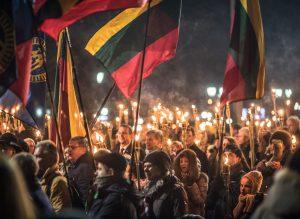 Latvijos Nepriklausomybės 100-mečio minėjimas Rygoje | A. Bartašiaus nuotr.
