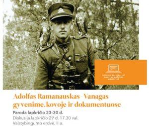 A.Ramanauskas-Vanagas dokumentuose