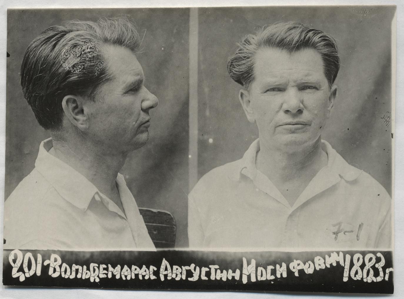 Augustinas Voldemaras Ordžonikidzės vidaus kalėjime Šiaurės Osetijos ASSR | Lietuvos ypatingojo archyvo nuotr.