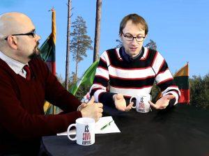 Andrius Gaidamavičius apie vandalizmą miškuose | Alkas.lt nuotr.