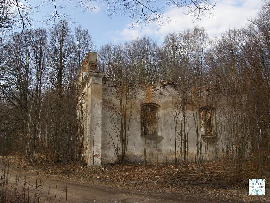 Digrių koplyčios griuvėsiai   V. Vaitkevičiaus nuotr., 2010 m.