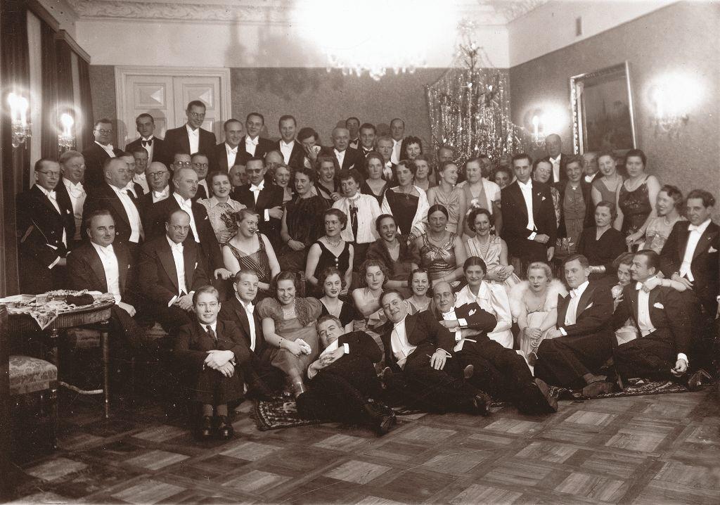 Diplomatinis korpusas sutinka Naujuosius metus. Kaunas, 1939 m. sausio 1 d. Fot. M. Smečechauskas | NČDM nuotr.