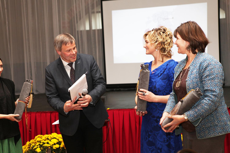 Gintaras Karosas (LT), Emerita Gruzde (LV) Riin Alatalu (EE) | Lietuvos pilių ir dvarų asociacijos nuotr.