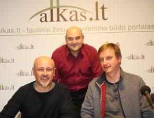 Saulius Tučkus, Gerimantas Statinis ir Egidijus Žukauskas | Alkas.lt nuotr.