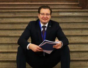Naujai perrinktas LŽS pirmininkas D. Radzevičius   Alkas.lt, A. Sartanavičiaus nuotr.