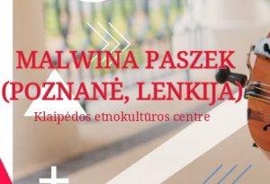 Lenkiško folkloro koncertas | Klaipėdos etnokultūros centro nuotr.