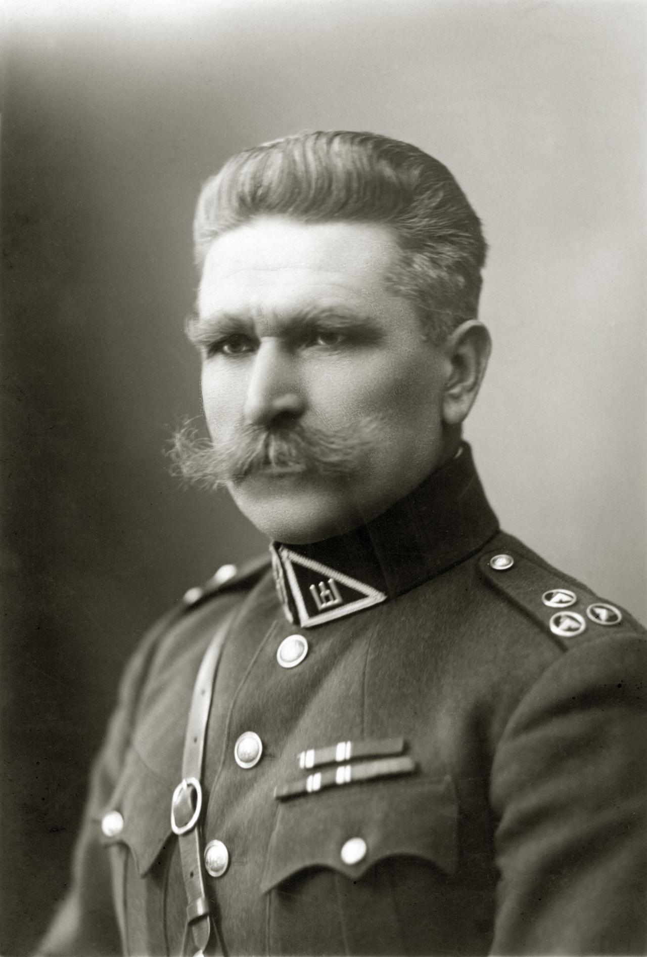 Mykolas Velykis – Lietuvos kariuomenės generolas leitenantas. 1927 m. | Lietuvos centrinio valstybės archyvo nuotr.