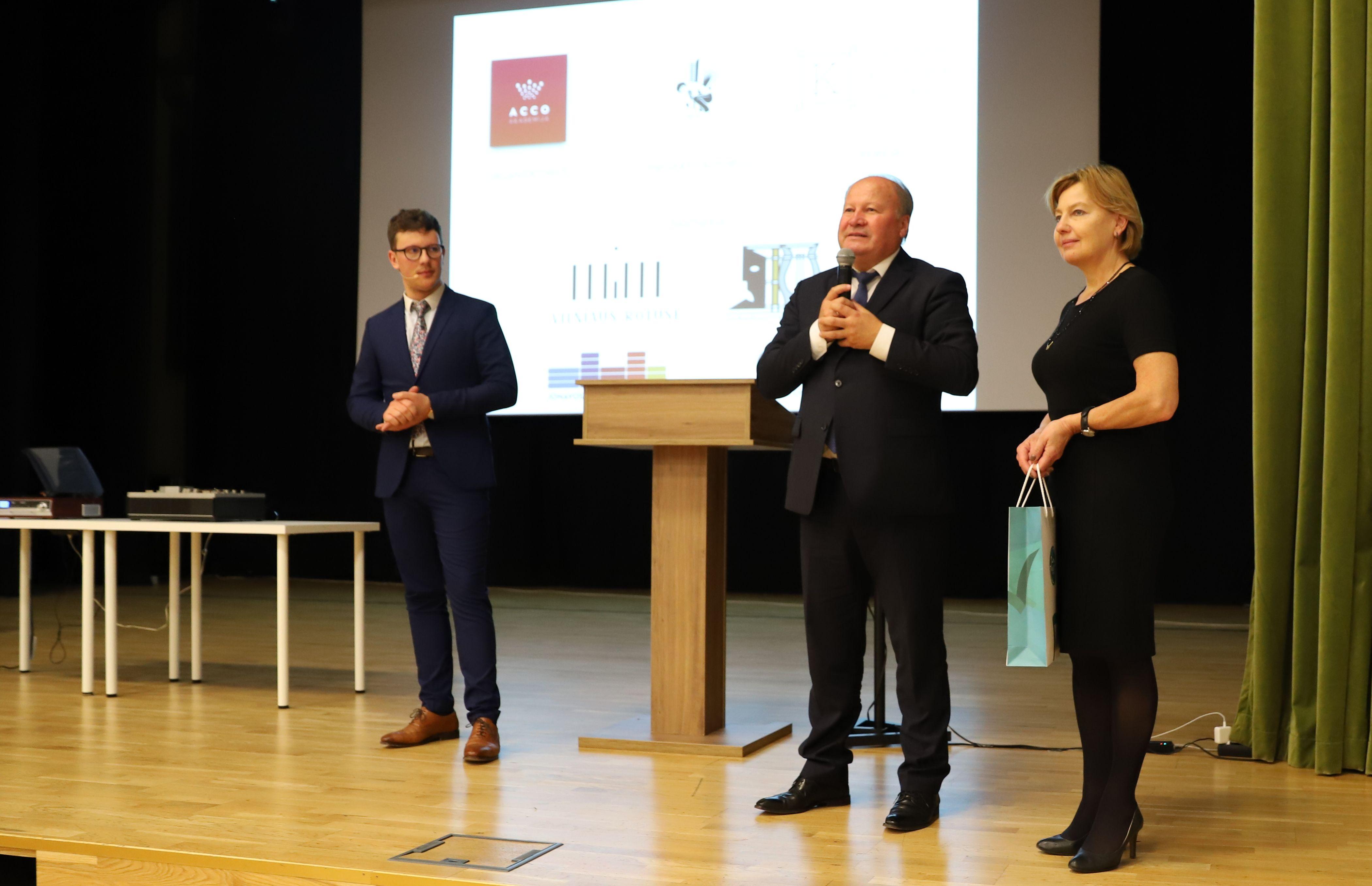 Muzikos pamoka su M. Levickiu | Kauno rajono savivaldybės nuotr.