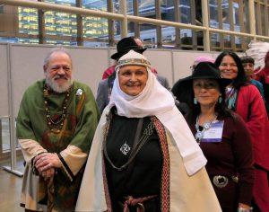 Krivė Inija Trinkūnienė Pasaulio religijų parlamente Kanadoje | M. Ašleig (M. Ashleigh) nuotr.