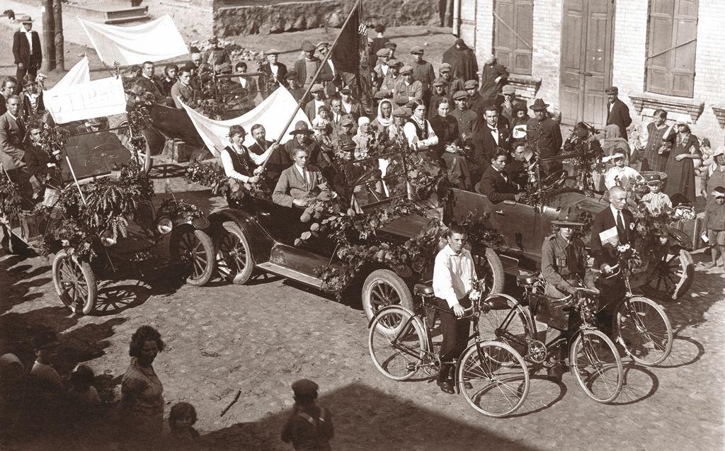 Pirmasis Lietuvos katalikų jaunimo sąjungos Pavasaris Dzūkijos regiono kongresas. Alytus, 1925 m. rugpjūčio 29 d. | KTUB nuotr.