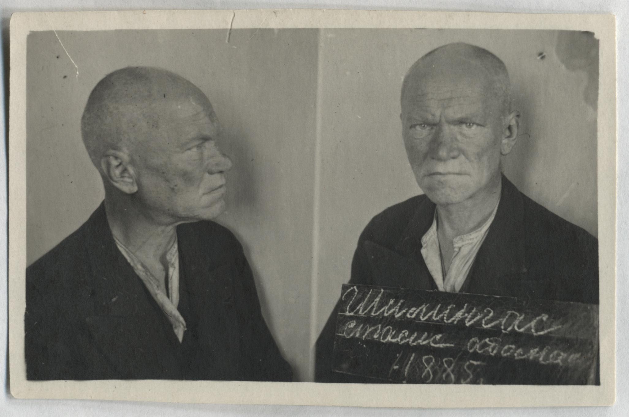 Stasys Šilingas Kansko kalėjime Krasnojarsko krašte | Lietuvos ypatingojo archyvo nuotr.