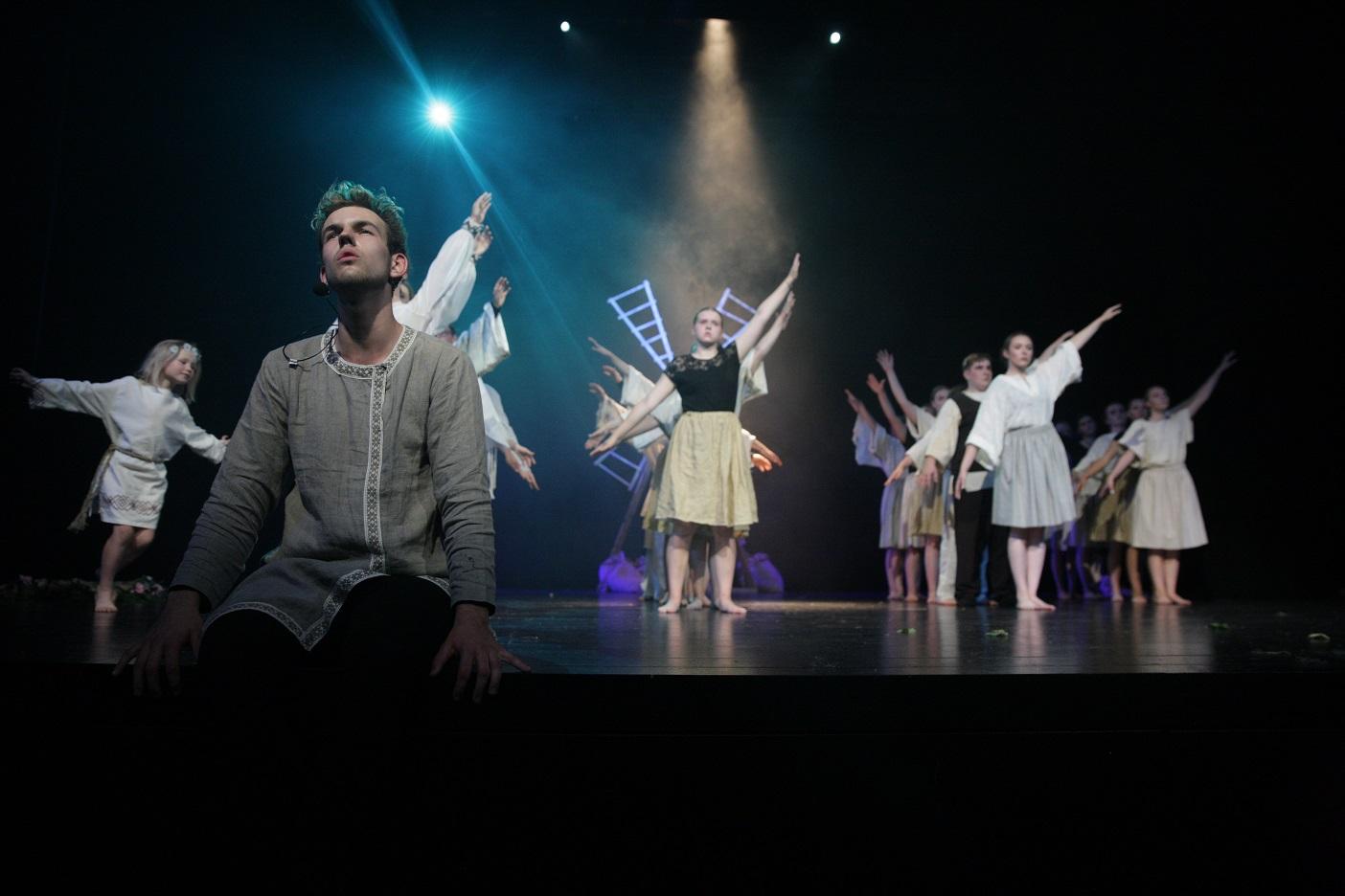 """Ignaliną dvi dienas džiugino teatro šventė – šaunieji """"Bildučiai""""   Ignalinos rajono savivaldybės nuotr."""