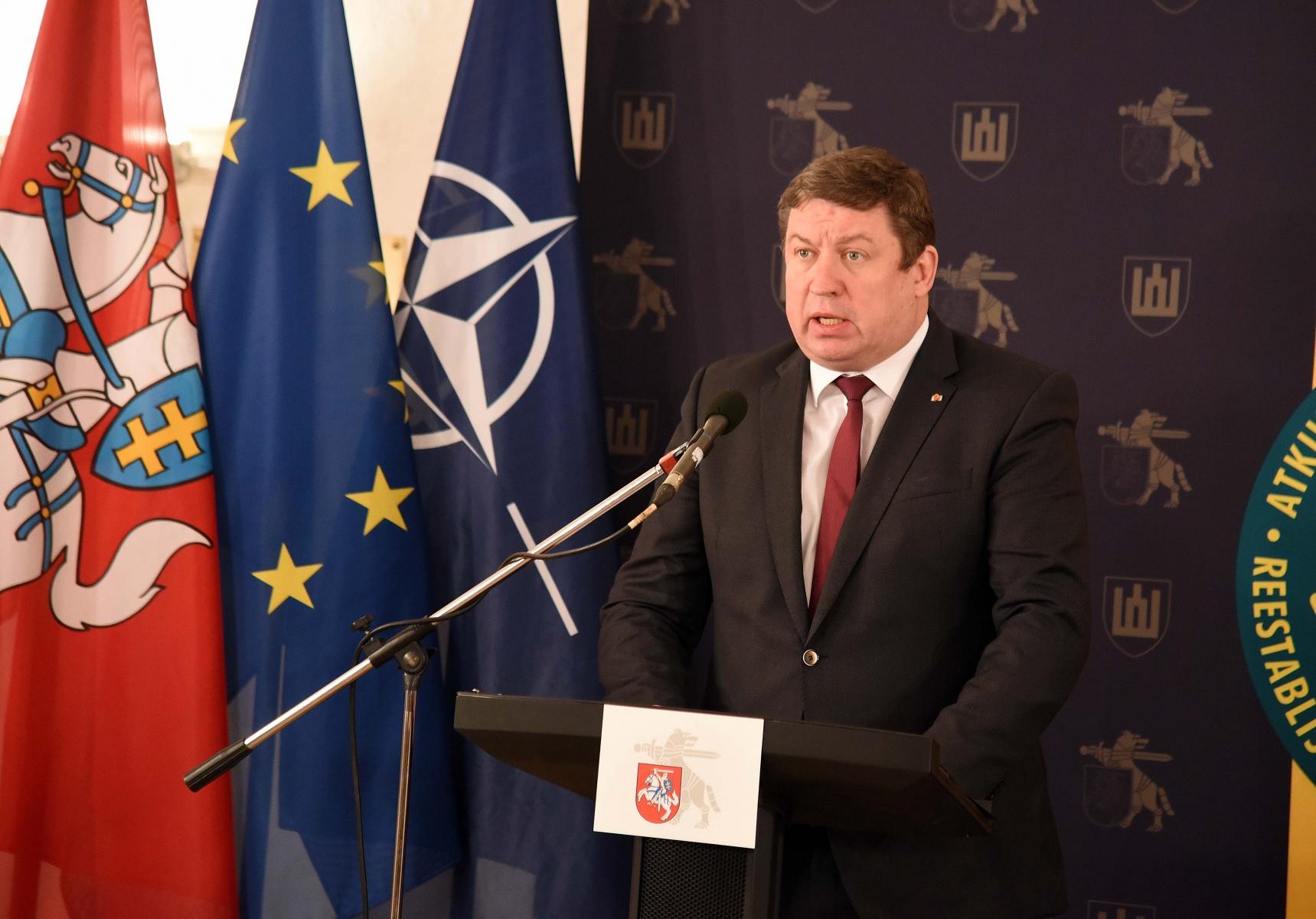 Krašto apsaugos ministras Raimundas Karoblis | KAM nuotr.