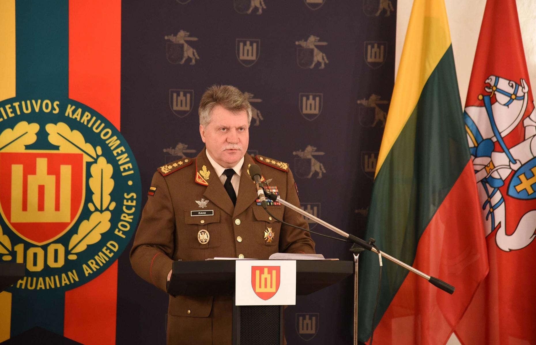 Lietuvos kariuomenės vadas generolas leitenantas Jonas Vytautas Žukas | KAM nuotr.