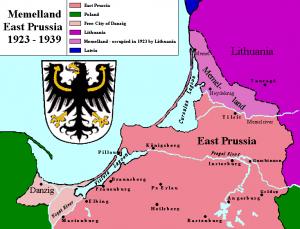 Klaipėdos kraštas 1923-1939 | wikipedia.org nuotr.