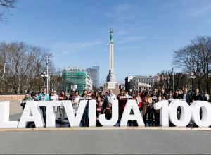 facebook.com/Latvija100 nuotr.