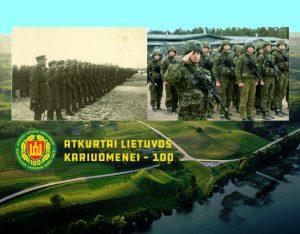 Lietuvos karinės pajėgos pažymi atkūrimo 100-metį | Alkas.lt koliažas