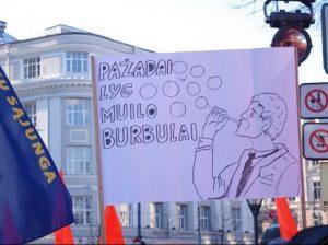 Mokytojų streikas | Alkas.lt, A. Rasakevičiaus nuotr.