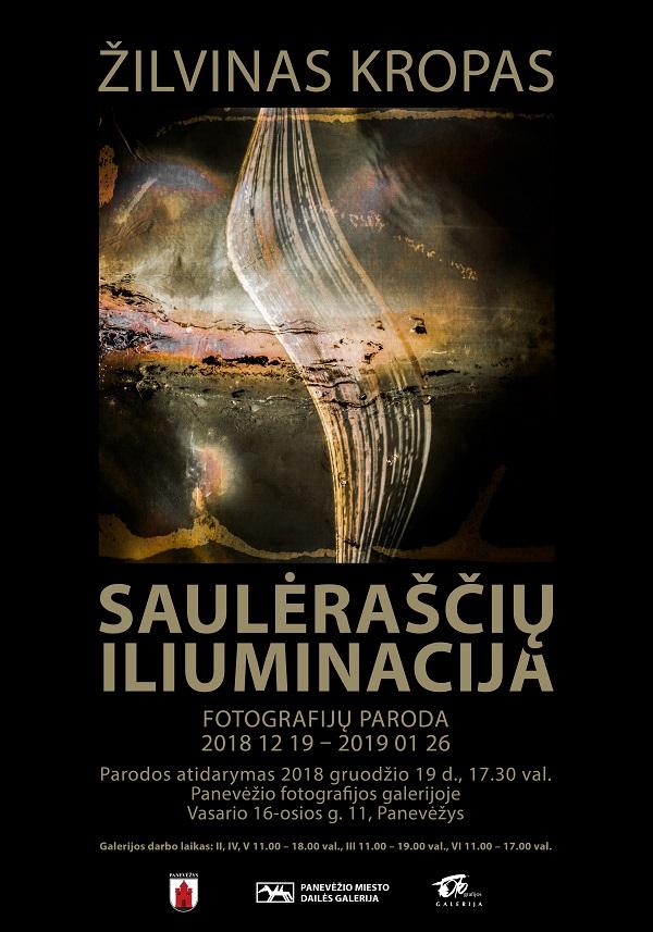 Žilvino Kropo fotografijų paroda | Panevėžio miesto dailės galerijos nuotr.