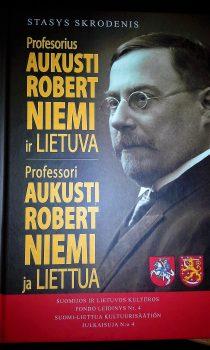 """""""Profesorius Aukusti Robert Niemi ir Lietuva""""   A. Stričkos nuotr."""
