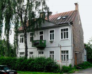 Vilnius, Žvėrynas, Vytauto g. 4. Namo vaizdas iš šiaurės rytų | A. Stabrausko nuotr.