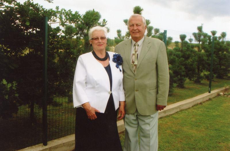 Rita Reda Dagienė su vyru Rimantu Dagiu 2015 metais | LLBM nuotr