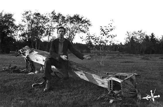 Nuotraukoje Balys Buračas1922 m. | Vytauto Didžiojo karo muziejaus nuotr.
