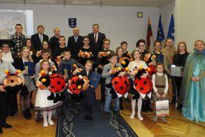 Ignalinoje pasveikinti jaunieji talentai | Ignalinos rajono savivaldybės nuotr.