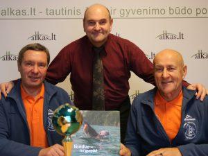 Vidmantas Urbonas, Gerimantas Statinis ir Edmundas Ganusauskas | Alkas.lt nuotr.