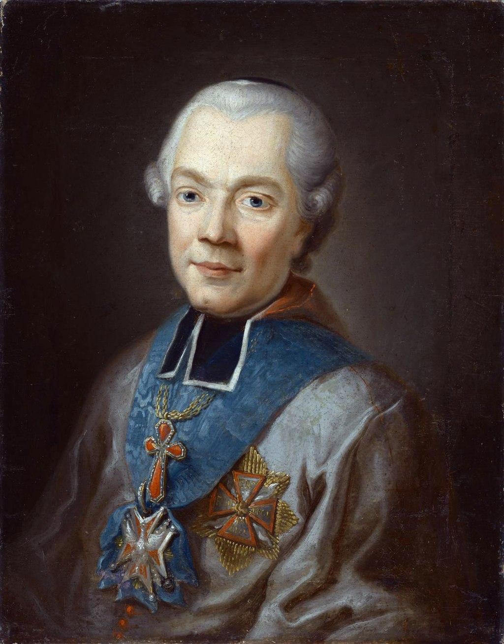 Ignoto Jokūbo Masalskio paveikslas. Dailininkas F. Smuglevičius 1785-86   Wikipedia.org nuotr.