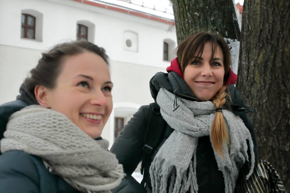 """""""Medikų sąjūdžio"""" atstovės — su Jurgita Sejonienė ir Urtė Builytė   M.Matulevičiaus nuotr."""