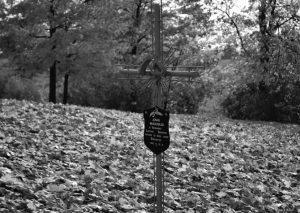 Jono Murausko kapas Punsko senosiose kapinėse | punskas.pl nuotr.