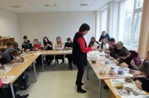 Didžiasalyje atgaivinti keramikos papročiai | Ignalinos rajono savivaldybės nuotr.
