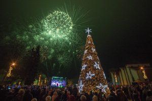 Kalėdos Birštone: per 40 renginių ir norus pildantis stebuklingas fėjų skveras | Ramučio Gustaičio nuotr.