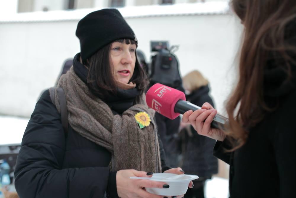 Socialinių darbuotojų asociacijos vadovė Jūratė Tamašauskienė   M.Matulevičiaus nuotr.