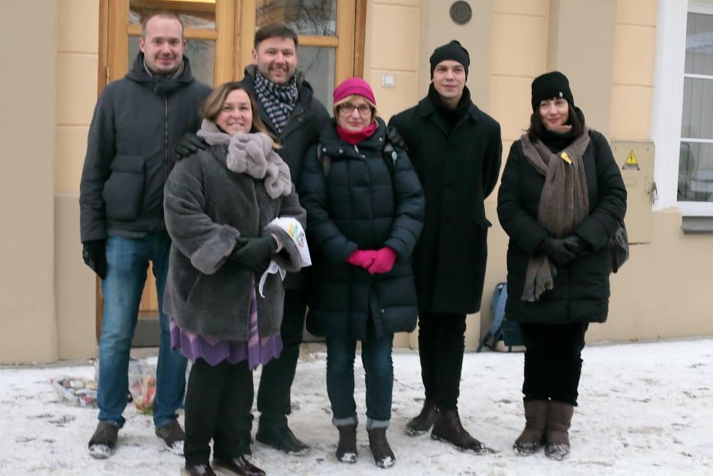 Liutauras Gudžinskas, Zivilė Gudlevičienė, Andrius Navickas, Rūta Žiliukaitė ir Juratė Tamašauskienė   M.Matuleviciaus nuotr.