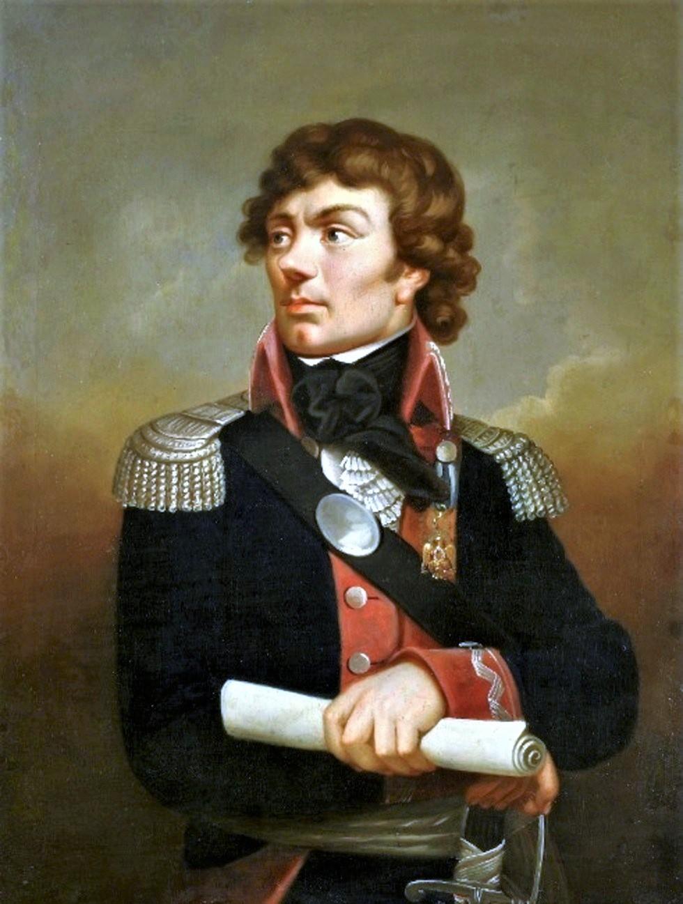 Tadas Kosciuška. K. Šveikarto paveikslas | Wikipedia.org nuotr.